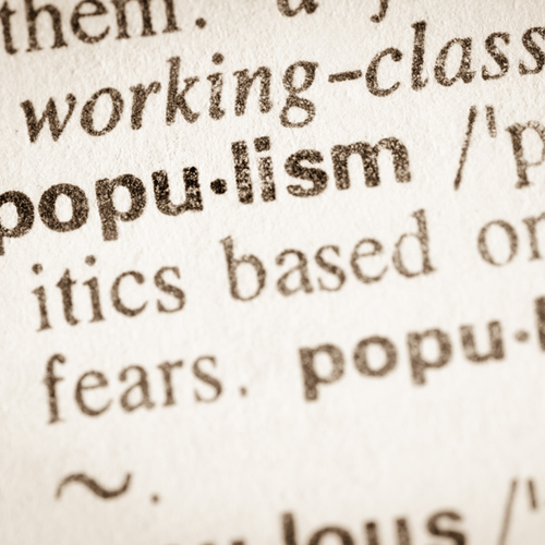 The Spectre of Populism