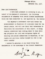 Balfour-letter